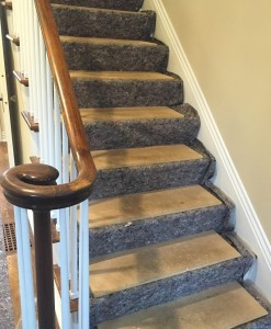 Designer Builders using Clean&Safe with MDF for Stair Protection
